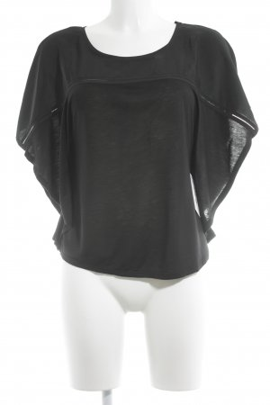 H&M Shirttunika schwarz Casual-Look