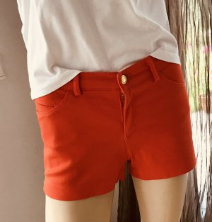 H&M Short orange fluo