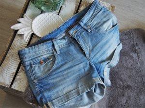 H&M Short korenblauw-azuur