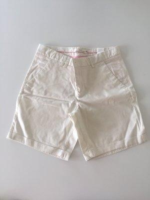 H&M L.O.G.G. Pantalon pattes d'éléphant blanc-blanc cassé