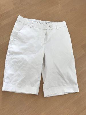 H&M Shorts Bermuda weiß