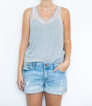 H&M Shorts Boyfriend Used Look Ripped Blogger