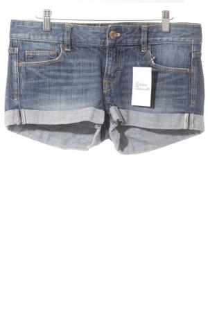 H&M Short donkerblauw casual uitstraling