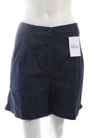H&M Shorts dunkelblau klassischer Stil