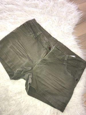 H&M Denim Shorts ocher
