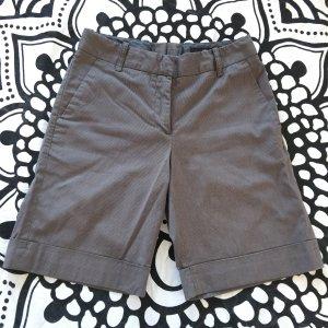 H&M Shorts Gr. 34 grau Nadelstreifen kurze Hose