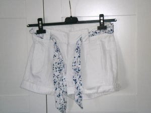 H&M, Shorts, Hotpants, kurze Hose, weiß, Gr. 34, H&M