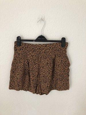 H&M High-Waist-Shorts brown-black