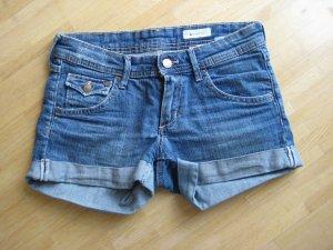 H&M Shorts in Denim mittelblau