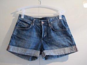 H&M Shorts kurze Hose 36/38 blau Jeans