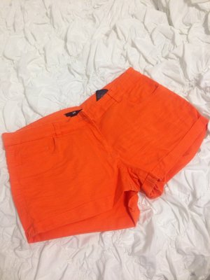 H&M Shorts kurze Hose orange Gr 38