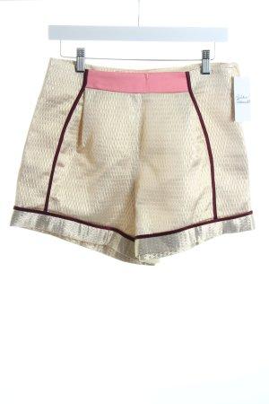 H&M Shorts mehrfarbig Glanz-Optik