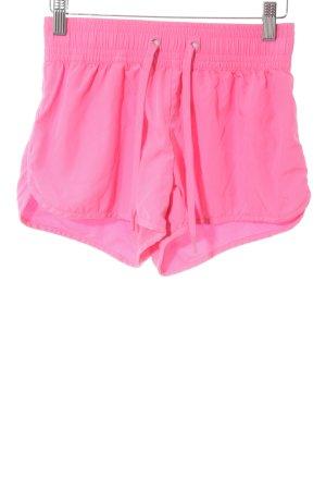 H&M Shorts pink sportlicher Stil