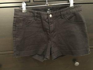 H&M Shorts Schwarz Hotpants 38
