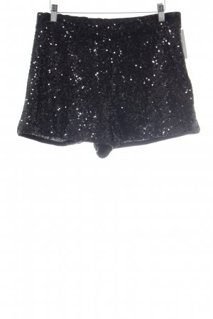 H&M Shorts schwarz Party-Look