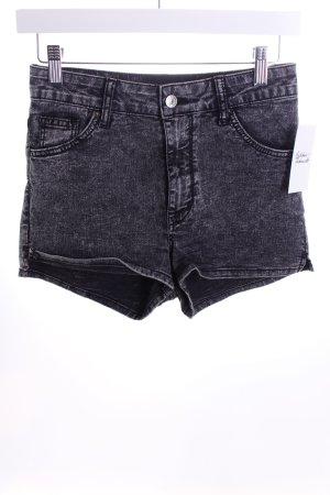 H&M Shorts schwarz-wollweiß Casual-Look