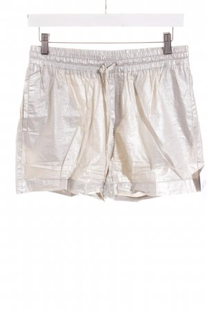 H&M Shorts silberfarben Party-Look
