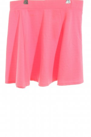 H&M Skater Skirt pink casual look