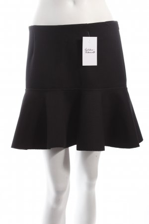 H&M Falda de patinador negro estilo clásico