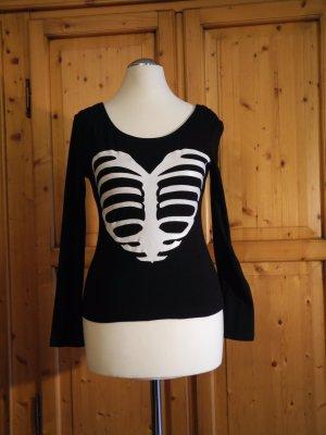 H&M Skelett-Herz Shirt