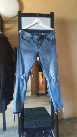 H&M Skinny Ankle Jeans Regular Waist Gr. 42
