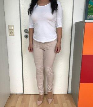 H&M skinny beige Hosen