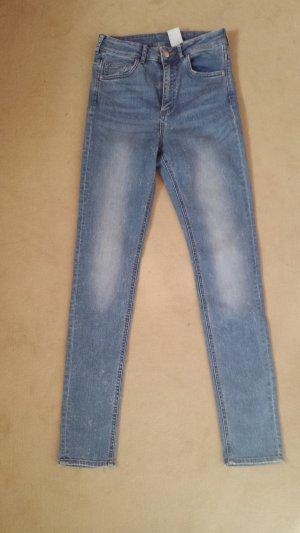 H&M, Skinny highwaist Jeans Gr.28/32, NEU