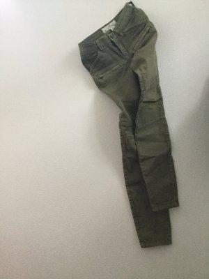 H&M Skinny Hose Khaki 36