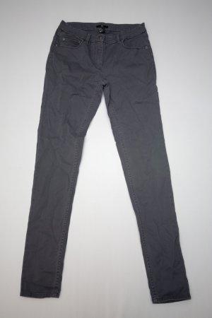 H&M Skinny Hose Röhre Röhrenhose Gr. 36 / S grau