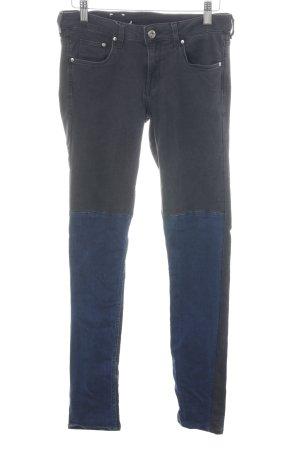 H&M Skinny Jeans schwarz-blau Casual-Look