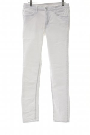 H&M Skinny Jeans weiß Business-Look