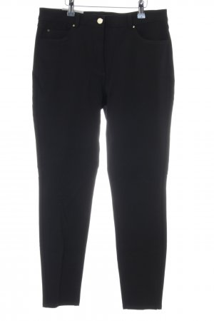 H&M Skinny Jeans schwarz Business-Look