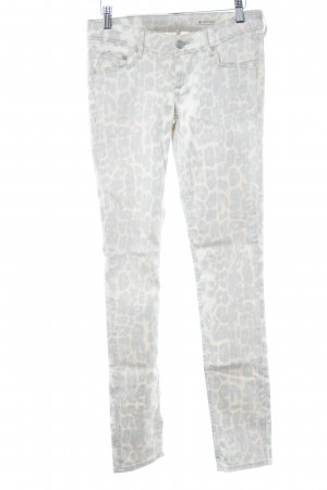 H&M Skinny Jeans Animalmuster Casual-Look