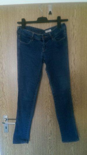 H&M skinny Jeans blau