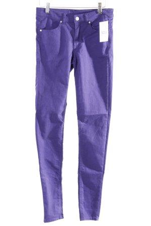 H&M Skinny Jeans blauviolett