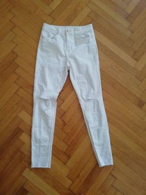 H&M skinny jeans destroyed look