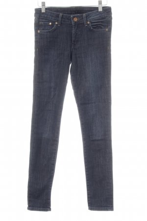 H&M Skinny jeans donkerblauw casual uitstraling