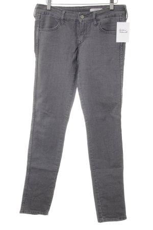 H&M Skinny Jeans grau Casual-Look