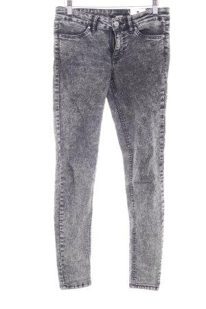 H&M Skinny Jeans grey-dark grey washed look