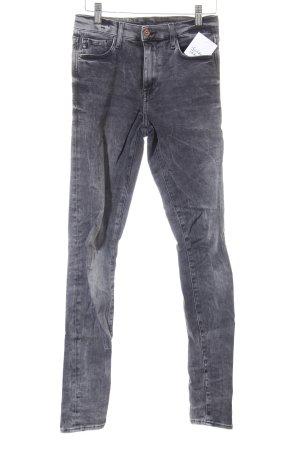H&M Skinny Jeans grau Street-Fashion-Look
