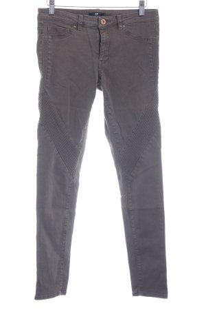 H&M Skinny Jeans graubraun Casual-Look