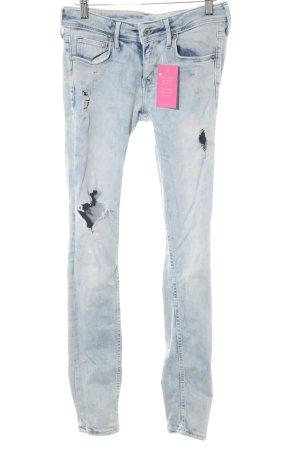 H&M Skinny Jeans hellblau Casual-Look