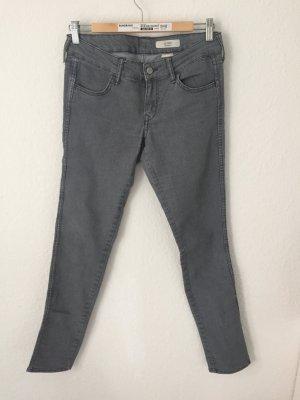 H&M Skinny Jeans Hellgrau
