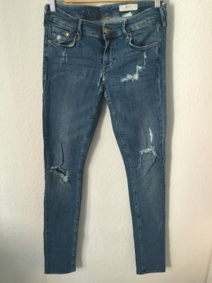H&M Skinny Jeans im Destroyed Look