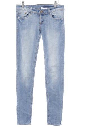 H&M Skinny Jeans kornblumenblau Casual-Look