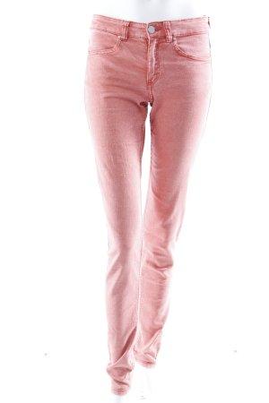 H&M Skinny Jeans lachsfarben