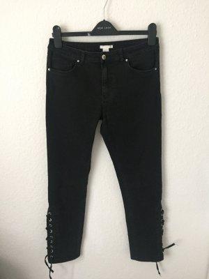 H&M Skinny Jeans mit Schnürung