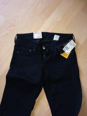 H&M skinny Jeans schwarz neu! 26 30