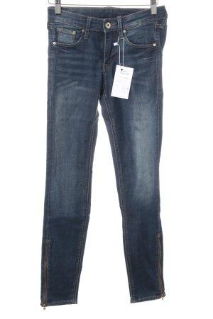 H&M Skinny Jeans stahlblau Casual-Look