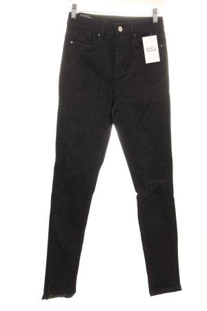 "H&M Jeans skinny ""Super Skinny High Waist"" noir"